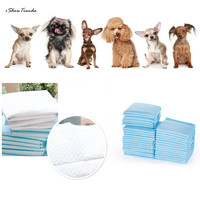 ISHOWTIENDA 100PCS 33*45cm Disposable Doggie Diapers Female Pet Dog Cat Diaper Paper Underwear Soft High Quality Pack