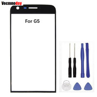 Vecmnoday Original New Outer Glass Lens For LG G5 H850 H840 H860 RS988 Replacement LCD Front