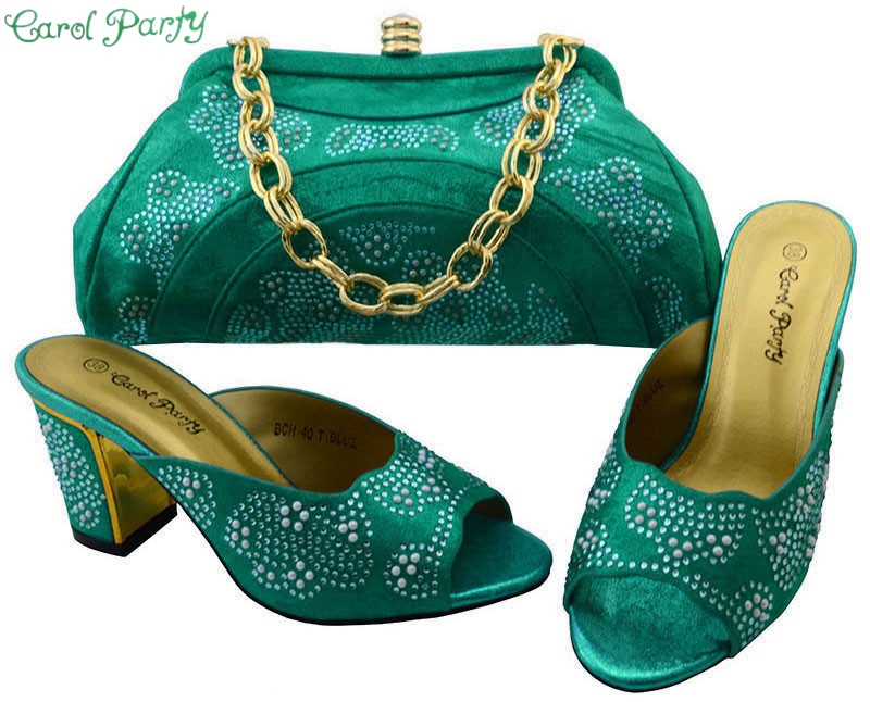 Fashion Style Matching Italian Shoes and Bag Set African Women Matching Italian Shoe and Bag Set Italian Shoes with Bags BCH-40 yh01 hot sale african matching shoes and bag with stone fashion dress shoes and bags free shipping