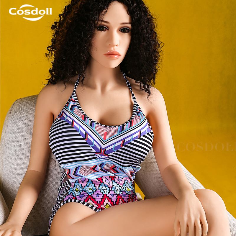 Cosdoll 158cm/165cm Full Size Silicone Sex Dolls for Men Masturbation Realike Pussy Vagina Sexy Toy with Metal Skeleton