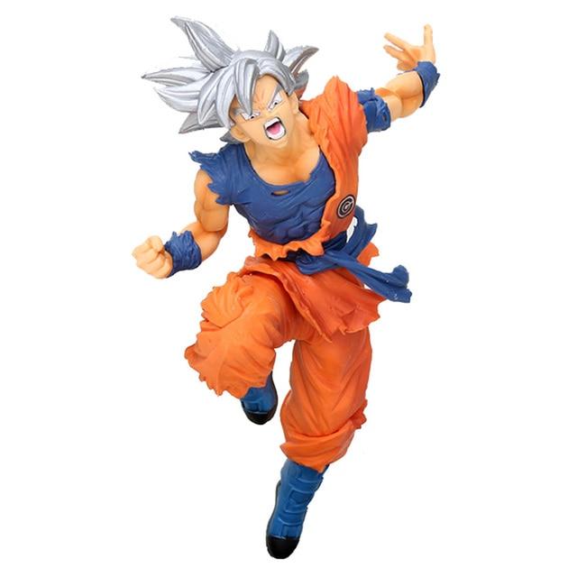 Dragon Ball Ultra Instinto Migatte Chave do Egoísmo não Gokui Brinquedos Ação PVC Figure Toy Modelo Figura Coleção Toy