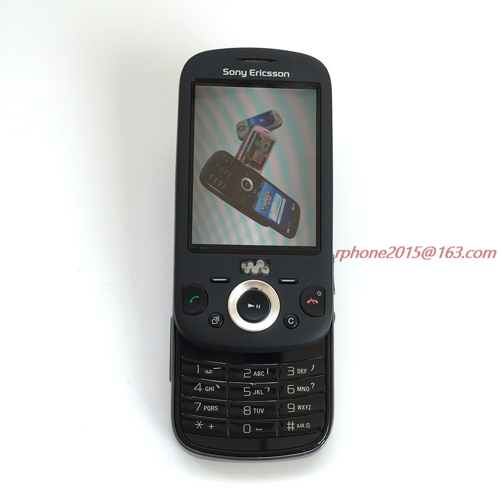 Refurbished Sony Ericsson Zylo W20 Bluetooth Mobile Phone 3.2MP Unlocked W20i Cell Phone Free Shipping  feature phone