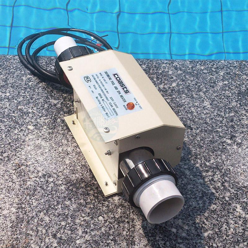 3000W Swimming Pool Bath SPA Heater Electric Water Hot Heating Thermostat 220V