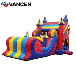Dmuchany zamek zjeżdżalnia Bouncer Combo nadmuchiwany zamek dla dzieci dzieci gry zabawy nadmuchiwany zamek do użytku domowego użytku komercyjnego
