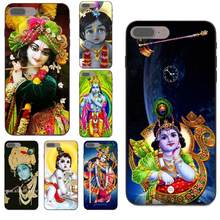 For Samsung Galaxy C5 C7 Note 4 8 9 S3 S4 S5 S6 S7 S8 S9 S10 Edge Plus Lite I9082 Soft Phone Case Indian God Lord Krishna(China)
