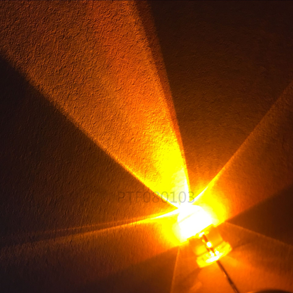10 x 5mm 9 volt LED Filaire Blanc LED Blanc 9v DC