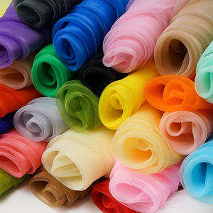 decoration fabric For home Organza Wedding party