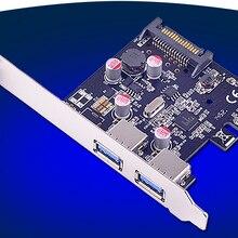 Pci-express до 2 Порты и разъёмы супер Скорость 5 ГБ USB3.0 контроллер адаптер для настольных