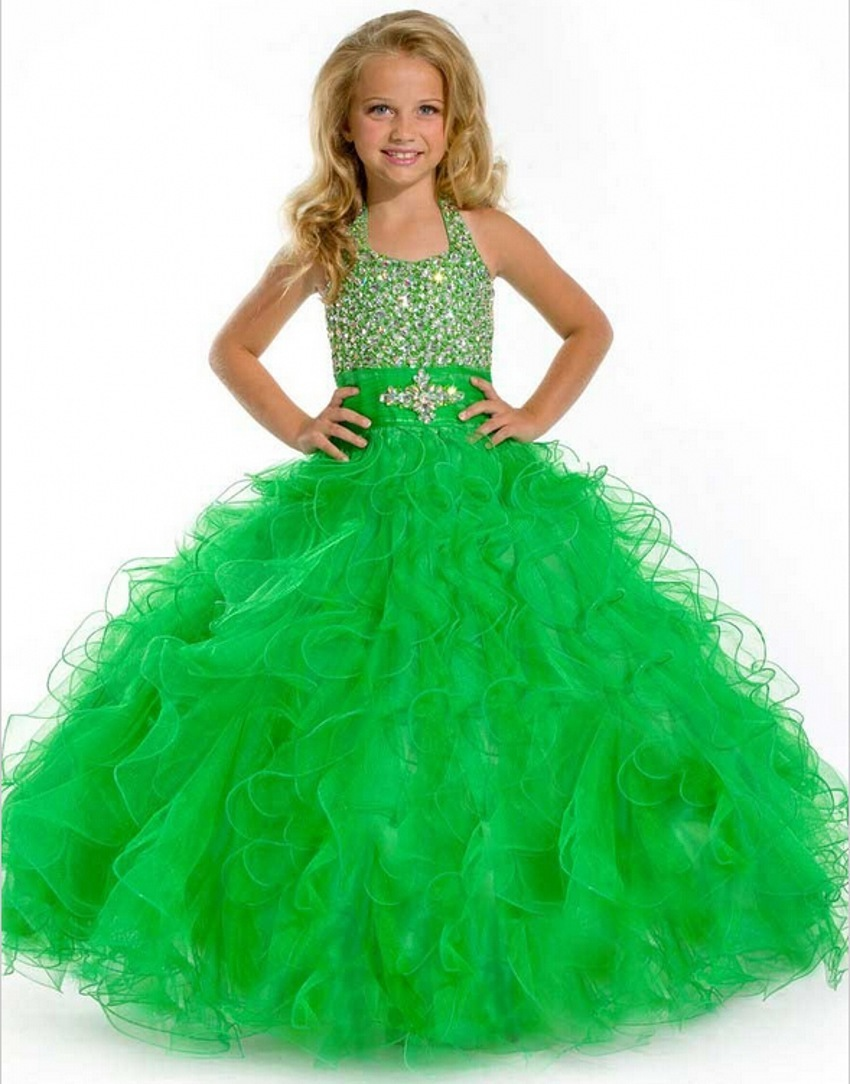 Online Get Cheap Green Pageant Dresses -Aliexpress.com | Alibaba Group