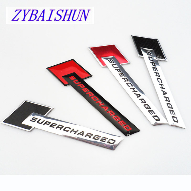Fashion car stickers decal logo supercharged version for mini one cooper r50 r52 r53 r55 r56