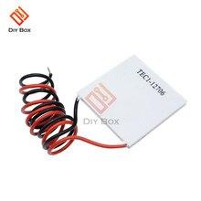 цена на TEC1-12706 Heatsink Thermoelectric Cooler Cooling Peltier Plate Module 12V 60W