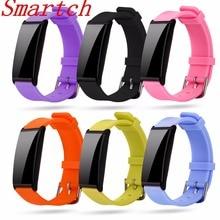 Smartch X9 смарт-браслет сердечного ритма Smart Band Presión arterial Мониторы смарт-браслет Фитнес трекер SmartBand PK ID115 ID107
