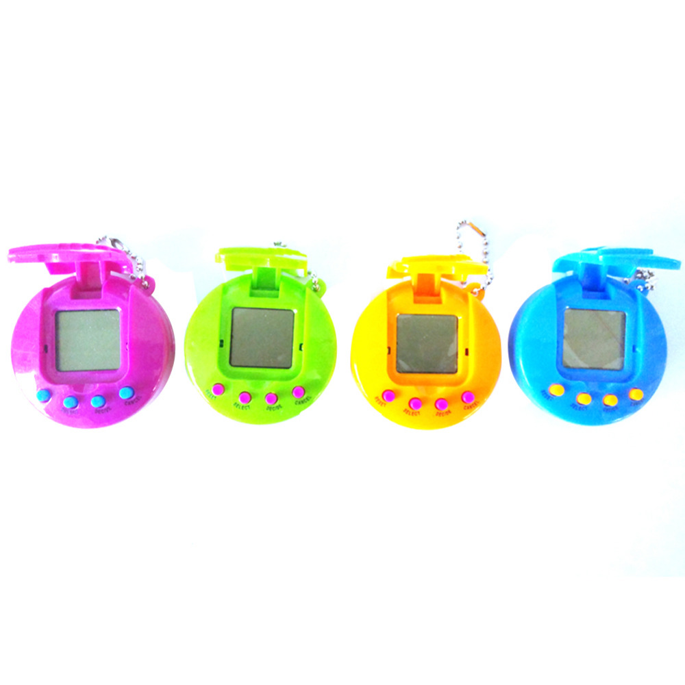 Funny Clamshell Tamagochi Pet Virtual Digital Game Machine Nostalgic Cyber Electronic E-Pet Handheld Toy Gift For Children