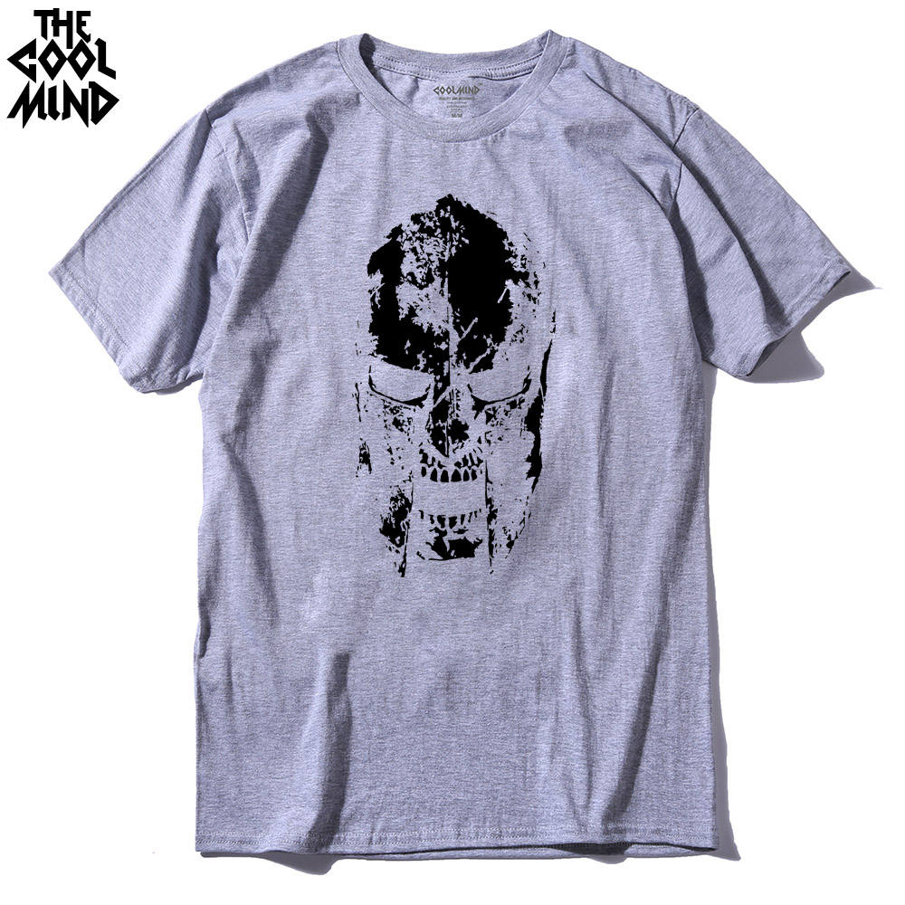 COOLMIND PU0314A 100 cotton short sleeve cool men T shirt casual summer o neck tshirt male loose fashion t shirt tee shirt pthd in T Shirts from Men 39 s Clothing