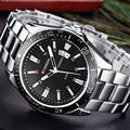 CURREN Watches Men Top Brand Luxury Wrist Quartz Watch Military Design Casual Men's Steel Clocks Male Men Sport Classic Clock
