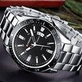 Curren relojes de los hombres superiores de la marca de diseño de lujo reloj de pulsera de cuarzo militar relojes de acero de los hombres ocasionales masculinos deporte de los hombres clásicos reloj