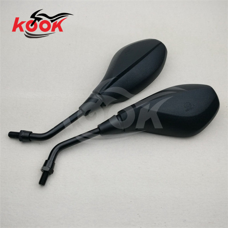 creative motorcycle Accessories motorbike mirrors motocross rearview mirror ATV Off road moto dirt pit bike scooter parts black