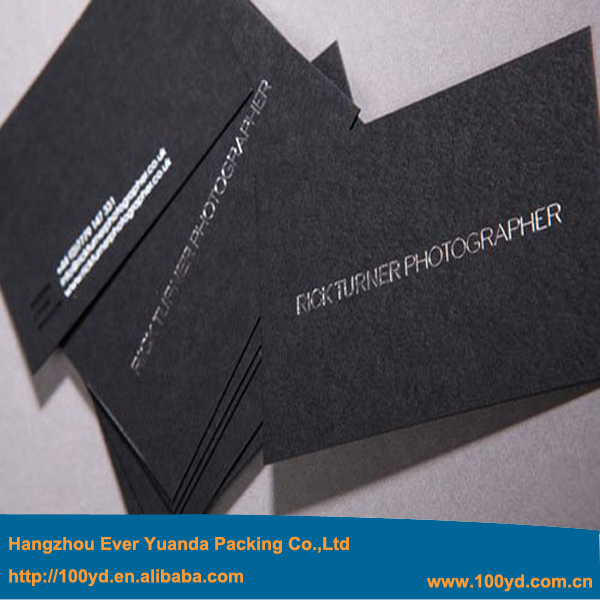 New design upscale customized business card print foil silver new design upscale customized business card print foil silver stampingletterpress 600gsm black paper classics style hot sale in business cards from office reheart Choice Image