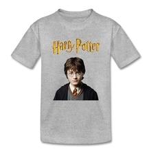 Harry Potter T-shirt 100% Cotton Magic Wizard Boy T-shirt For Kids Cool Animal Children Clothes Camisa(China (Mainland))