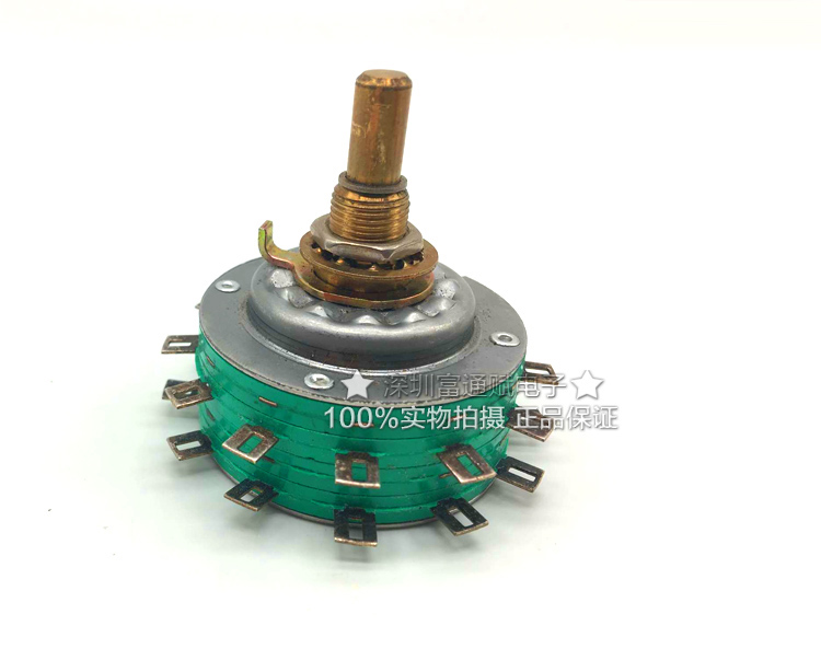[VK] US ELECTROSWIT rotary switch C7D Q30 2 layer 2 knife 12 file band switch 1A28VDC