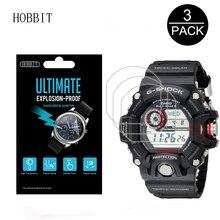 3 sztuk dla Casio GW9400 męska GShock Sport Watch folia ochronna na ekran dla GW 9400 1CR GW 9400 3CR GW 9400J 1JF Anti Scratch Film