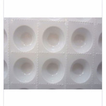 500pcs Cups/lot,Disposable Perforated Plastic Eyelash Extension Glue Holder Wells Adhesive Tray Eyelashes