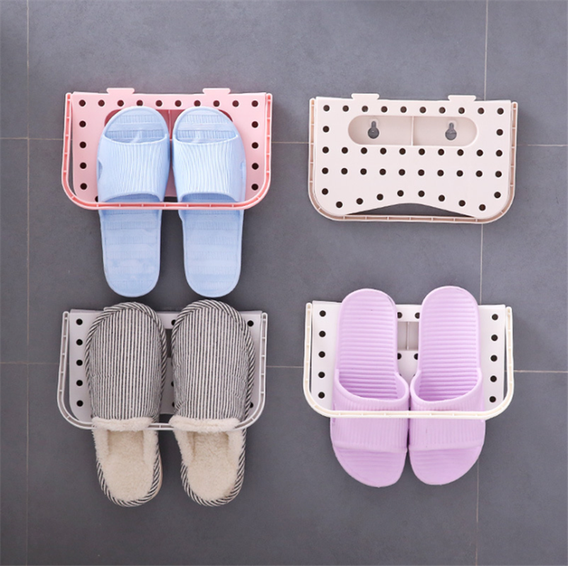 2019 New Arrival Home Creative Plastic Shoe Shelf Stand Cabinet Display Wall Shoes Rack Storage Organizer Shoe for Closet