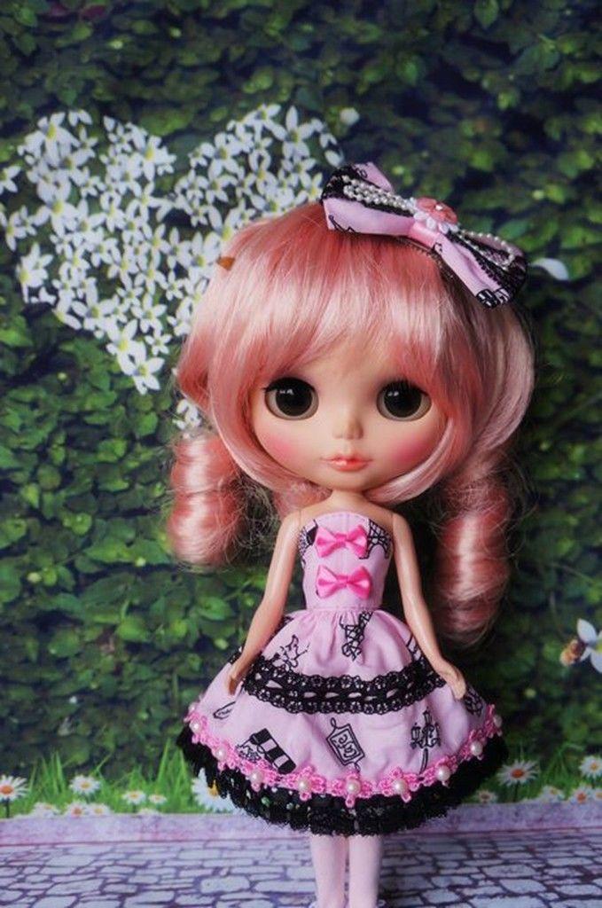 Doll Dress ~ Pullip Adorable Chiffon Doll Dress 1PCS NEW
