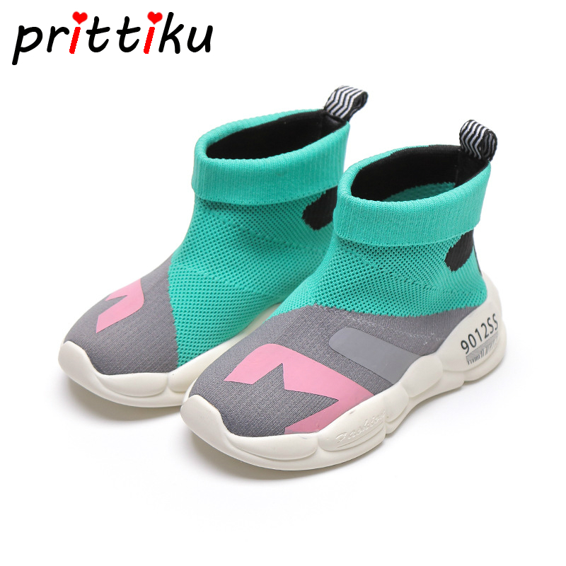 2019 Girls Boys HIgh Top Mesh Soft Sock Sneakers Baby/Toddler/Little/Big Kid Knit Fashion Casual Trainers Children Brand Shoes2019 Girls Boys HIgh Top Mesh Soft Sock Sneakers Baby/Toddler/Little/Big Kid Knit Fashion Casual Trainers Children Brand Shoes