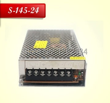 S-145-24 24V 6A 145W LED switching power supply control regulated power supply