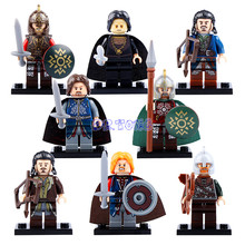 DR TONG Super Heroes Lord of the Rings DIY Toys The Building Blocks Action Figures DIY
