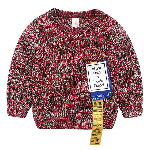 bd02a946d Online Shop Fashion Children Cardigan Sweaters Pullover Kid s ...