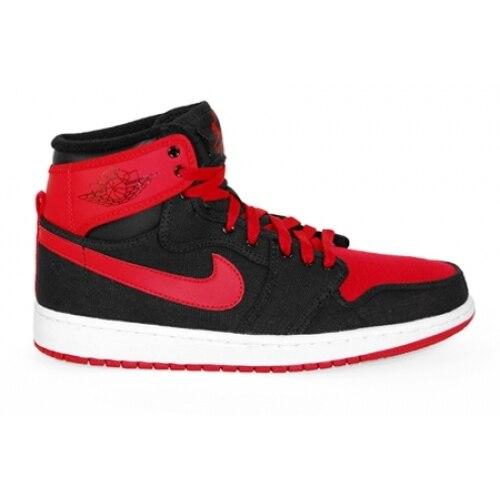 Buy Cheap 1 KO High QS Black/Varsity Red-White 02297-001
