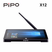 PIPO X12 Original de Windows y Android CAJA de la TV 10.8 pulgadas de Pantalla HD IPS 1920*1280 de la Cereza Z8350 Trail Quad Core 4G + 64G Bluetooth 4.0 VGA