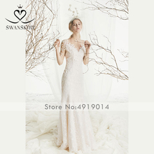 Swanskirt Wedding Dress mermaid romantic robe de mariee
