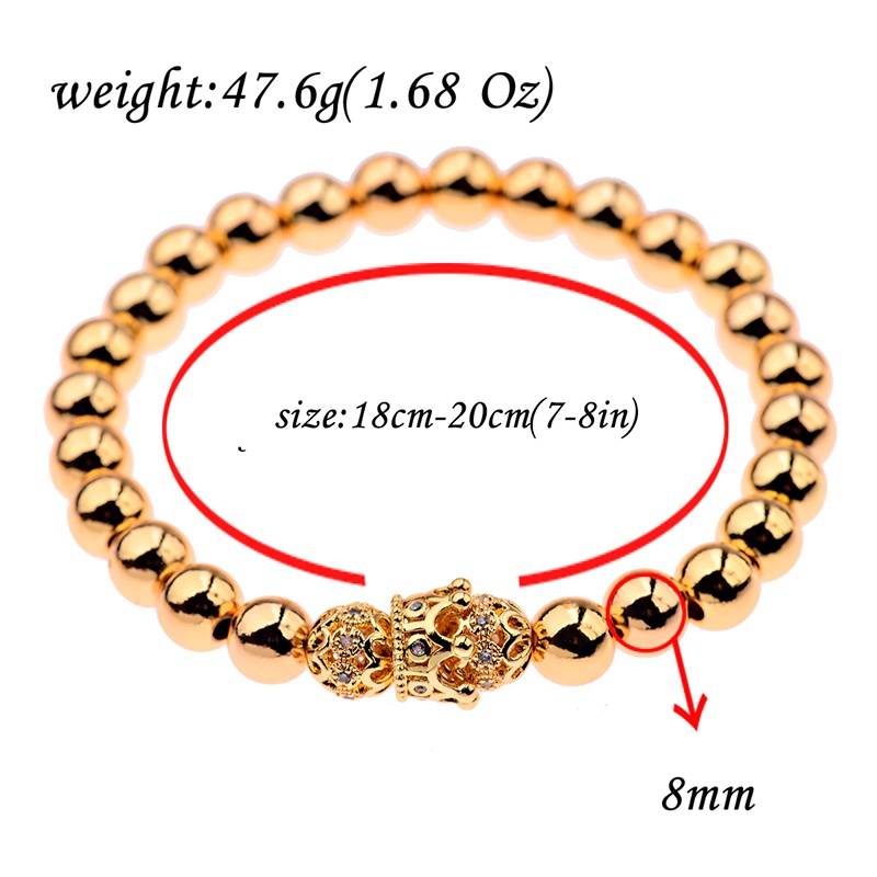 HTB1.0UDbXzsK1Rjy1Xbq6xOaFXaa - Gold Crown coupe bracelets 2pcs set