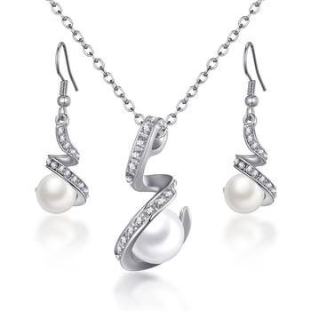 Women's Vintage Pearl Imitation Jewelry Set Jewelry Jewelry Sets Women Jewelry Metal Color: F1126