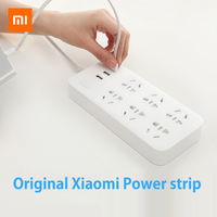 Original Xiaomi Mi Smart Power Strip Outlet Socket Updated Version 3 USB Extension Socket Plug With