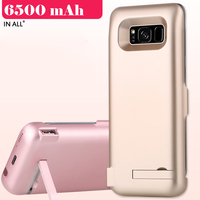 In All 6500mAh Power Case For Samsung Galaxy S8 Plus USB Battery Charger Cover For Samsung