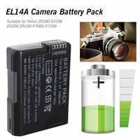 Recargable cámara Digital EN-EL14 ENEL14 es EL14 Paquete de batería para Nikon D5200 D3100 D3200 D5100 P7000 P7100 MH-24 DSLR Cámara