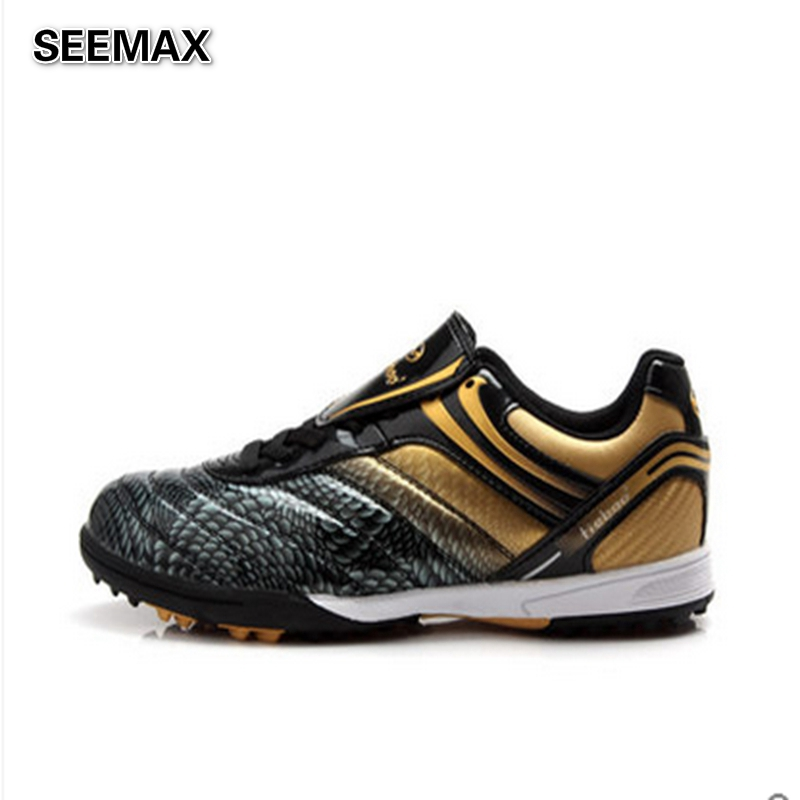 2016 Indoor Soccer Shoes Youth Women Soccer Brands Cleats Leather Ic Tf Turf Football Shoes Boots Original Boy Trainer Sneakers In Soccer Shoes