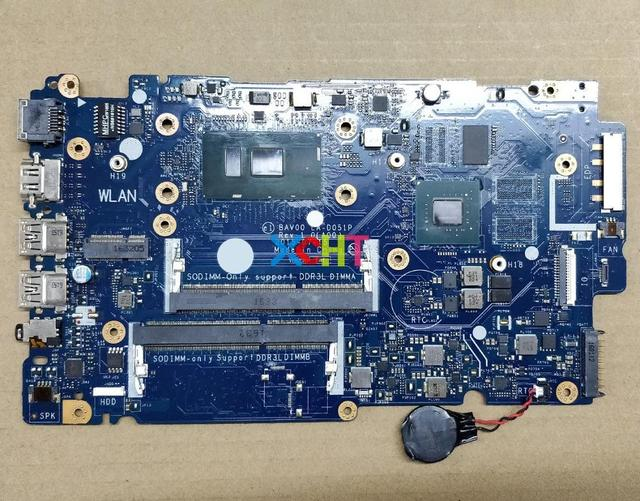 for Dell 5557 J2GTG 0J2GTG CN 0J2GTG BAV00 LA D051P w i5 6200U CPU N16S GM S A2 GPU DDR3L Laptop Motherboard Mainboard Tested