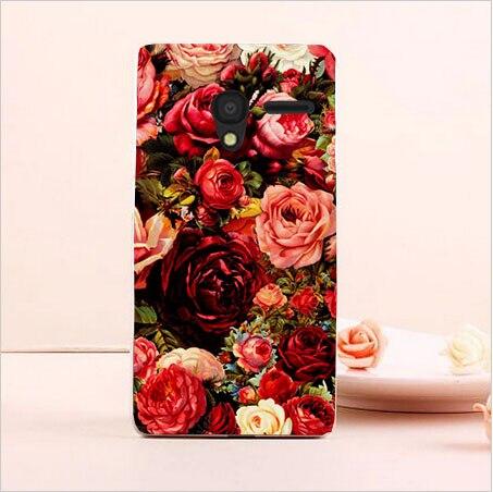 DIY Painted Transparan Hard Cover Kasus Untuk Alcatel One Touch Pixi3 - Aksesori dan suku cadang ponsel - Foto 5