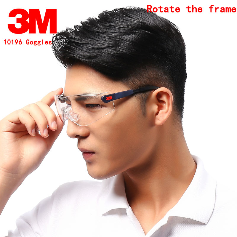 3M 10196 Protective Glasses Genuine Security Mirror Legs Up And Down Regulation Airsoft Glasses Anti-UV 99% Goggles