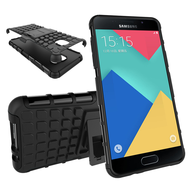 For Samsung Galaxy A7 2016 Case A710 A710F Heavy Duty Armor Shockproof Hybrid Hard Rugged Rubber Cover For Samsung A7 2016