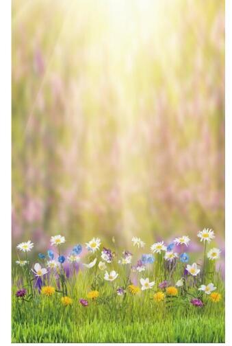 Spring Easter Flowers Vinyl Cloth Photography Backdrops