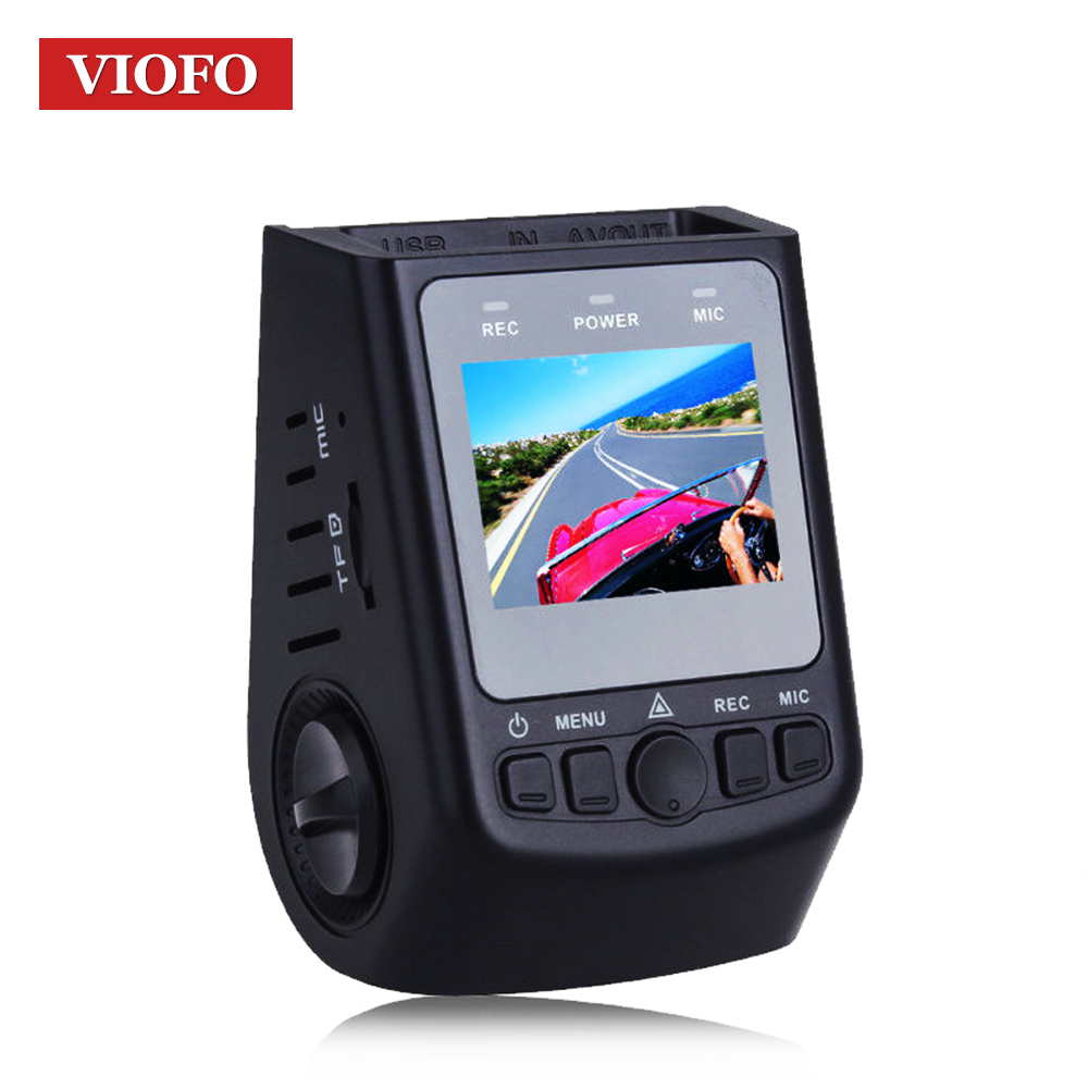 Original VIOFO Car DVRs A118C2 Super Capacitor Novatek Car Dash cam Camera Mini DVR HD 1080P Video Recorder Dash Cam as T810 iroad dash cam v9