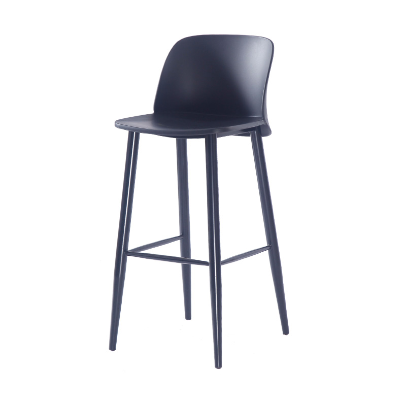 15%High Stool Bar Chair Nordic High Chair Kitchen Bar Stool Modern Minimalist Home Back Stool Bar Stool