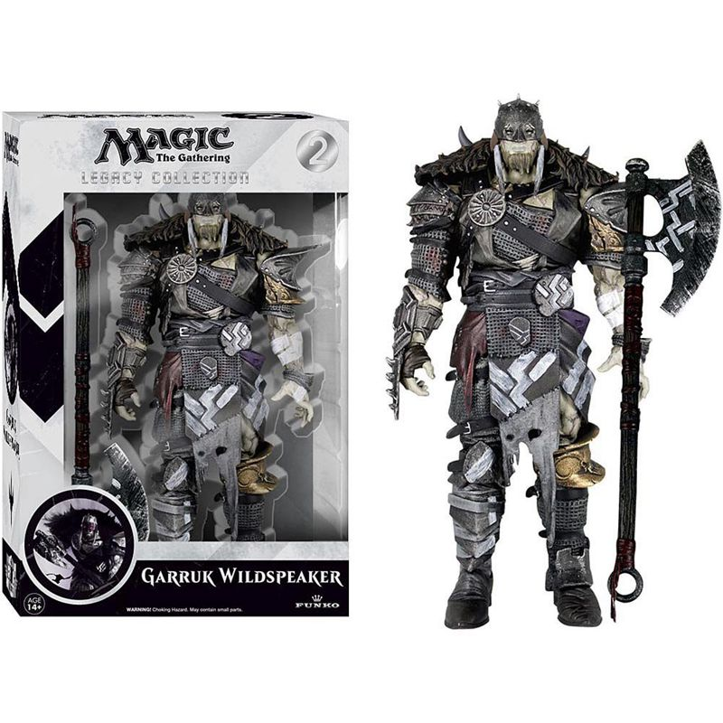 Official Funko Legacy Collection Action Figure 6 TV: Magic - Garruk Wildspeaker Collectible Model Toy in Box