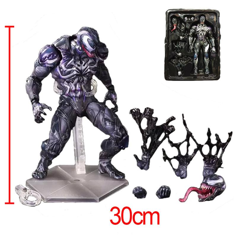 C&F The Amazing Spider-Man Venom Action Figure Toys Anti Hero Edward Brock Eddie Brock PVC Collectible Model Toys neca marvel legends venom pvc action figure collectible model toy 7 18cm kt3137